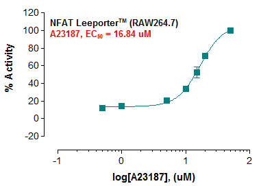 NFAT Leeporter™ Luciferase Reporter-RAW264.7 Cell Line