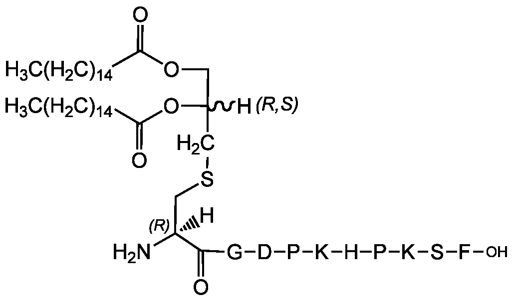 Fig-1: Chemical structure of FSL-1